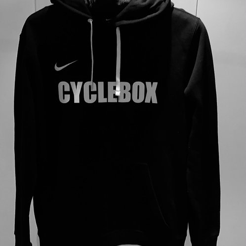 Cyclebox Training Hoody 19 - Black and White