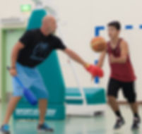 Coach Eric Gardow BE Basketball Doha Qatar Workout
