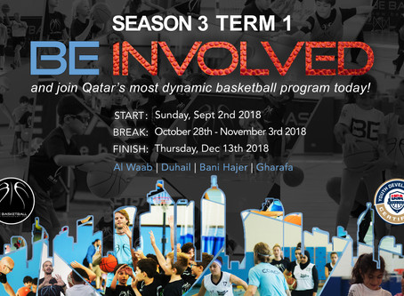 BE INVOLVED!