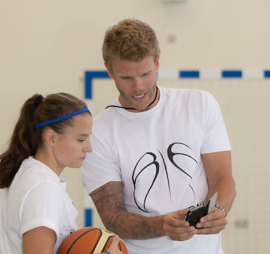 Coach Ben Smith Doha Qatar BE Basketball Workout Basketball Coaching