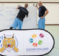 Corporate Health Doha Qatar BE Basketball Sports Days Finland School