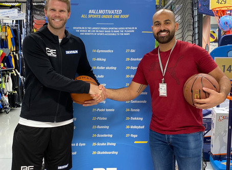BE BASKETBALL partner with the worlds largest sports retailer!