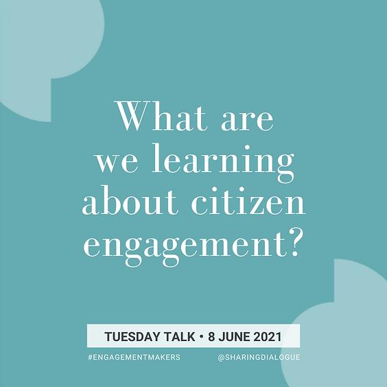 Tuesday Talk: Citizen Assemblies