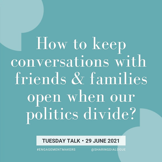 Tuesday Talk: Together Despite Differences