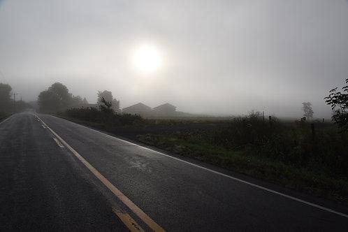 """Dawn at the Farm    16"""" x 20"""""""