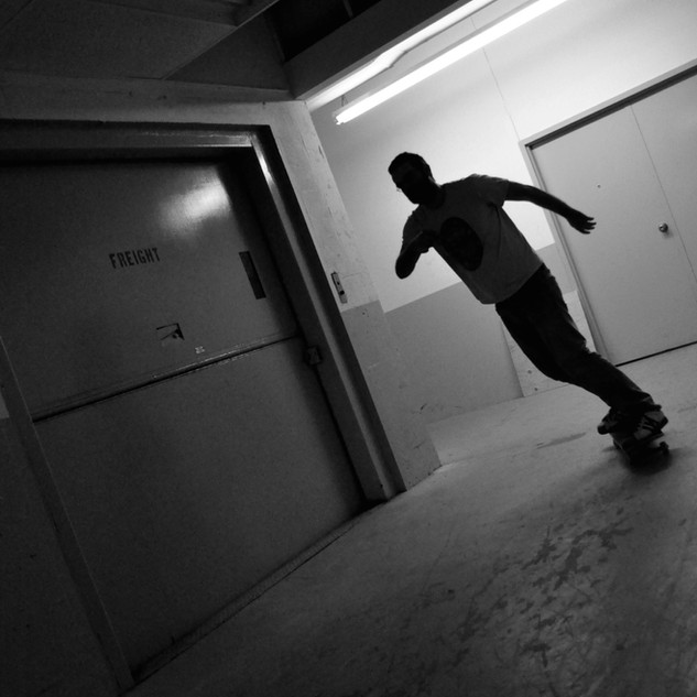 Hallway Skating