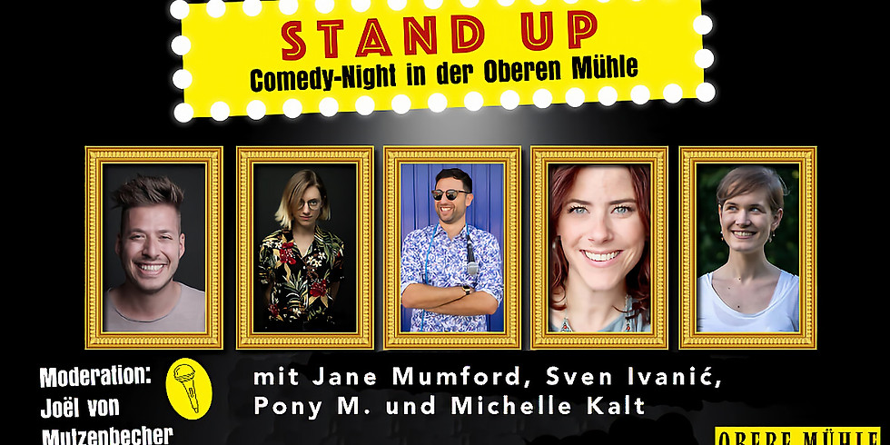 Stand-up Comedy Night in der Mühle