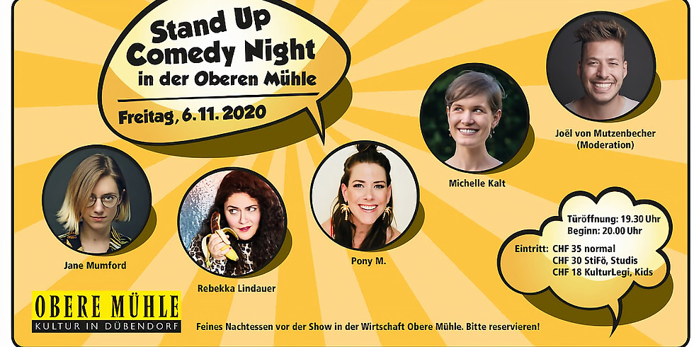 Stand Up Comedy Night