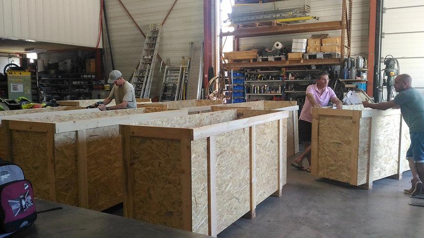 caisserie - emballage bois sur mesure