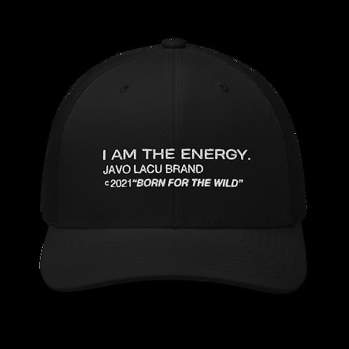 I AM THE ENERGY. RETRO