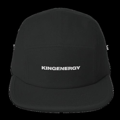 KINGENERGY 5 PANEL EMBROIDERED CAP