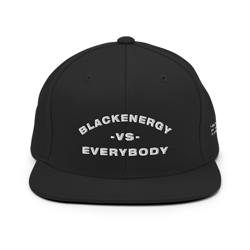 BLACKENERGY VS EVERYBODY SNAPBACK