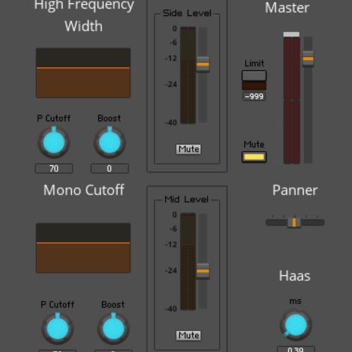 Simple Stereo Tool (Reaktor)