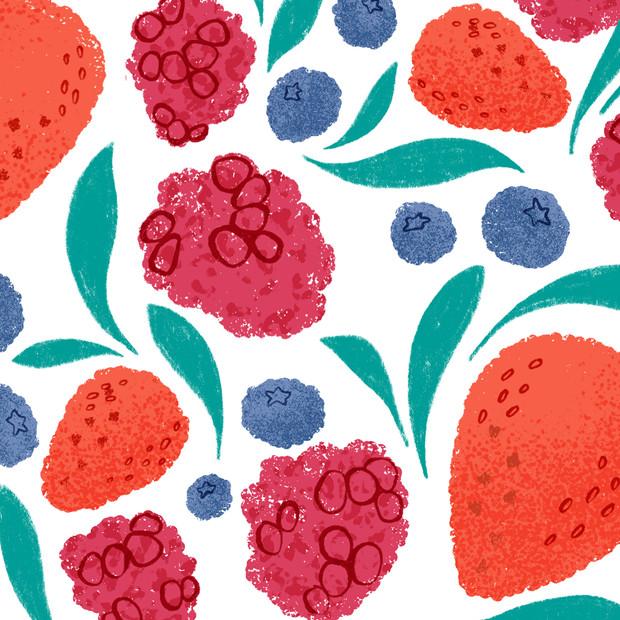 English Berries Pattern