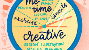 Day in the life of a freelance Illustrator & Graphic Designer
