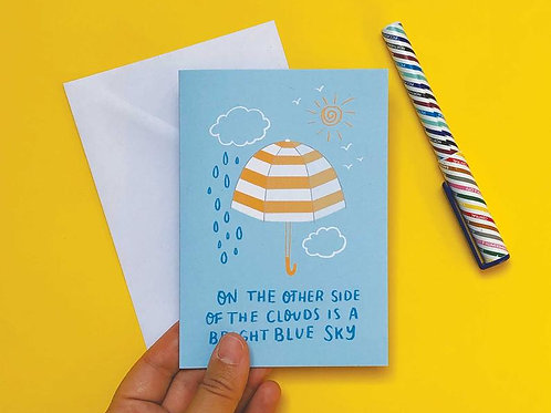 On The Other Side... Hand Drawn Greetings Card