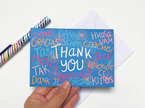 A Million Thank Yous Greetings Card