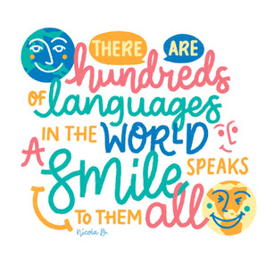 Smile is a language