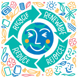 Reduce, reuse and renew