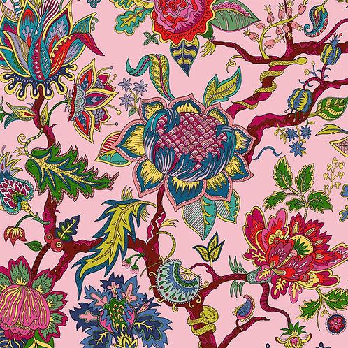 Eden Rose-Pink Wallpaper Sample A3