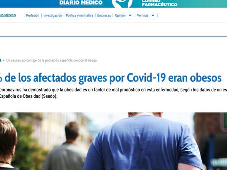El 80% de los afectados graves por Covid-19 eran Obesos