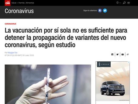Dr. Fauci Acepta Publicamente que VACUNADOS se contagian y contagian a otros - Variante DELTA