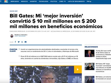 Bill Gates : El Tema de las Vacunas que Promueve es Filantropia o un Gran Negocio?