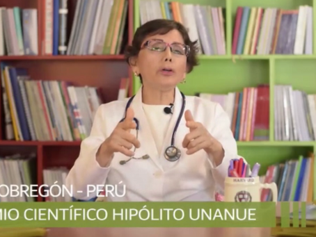 LIDA OBREGON- PREMIO CIENTIFICO HIPOLITO UNANUE Denuncia Riesgo de Vacunas y Omision de Terapias
