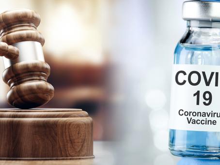 Demanda Federal busca la suspensión inmediata de las vacunas COVID