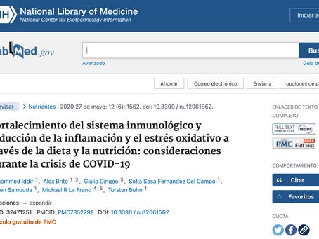 Fortalecimiento del sistema inmunológico y reducción de la inflamación y estrés oxidativo: COVID-19