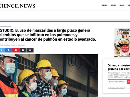 ESTUDIO: El uso de mascarillas a largo plazo asociado a cáncer de pulmón