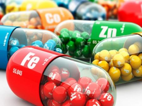 Vitaminas y Minerales : Dosis Recomendadas Diarias