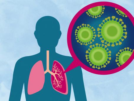 El uso de mascarillas a largo plazo genera microbios que se infiltran en los pulmones