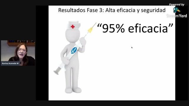 VACUNA: ¿Cual es el VERDADERO significado del 95% de Eficacia? ... La Mayoria No Sabe