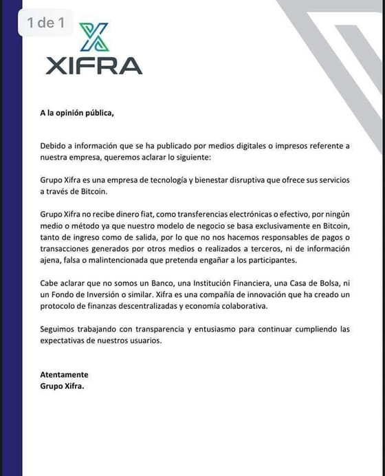 XIFRA : ¿Oportunidad Real o Fraude?