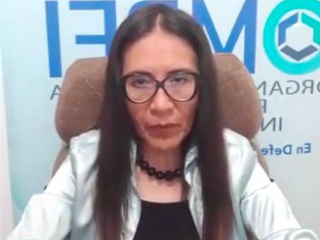 Rosa Maria Apaza Presidenta de la Organización Médica Peruana de Investigación denuncia publicamente