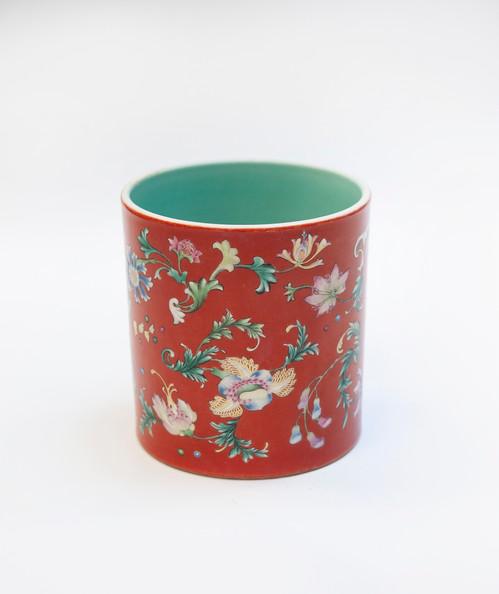 Pot à pinceau époque Qing - 35.840€