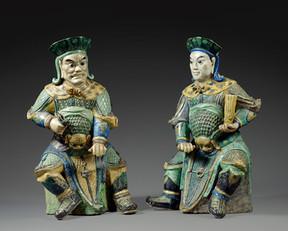 Statues de guerriers - 10.400 €