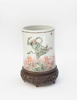 Pot à pinceau Kangxi - 17.920€