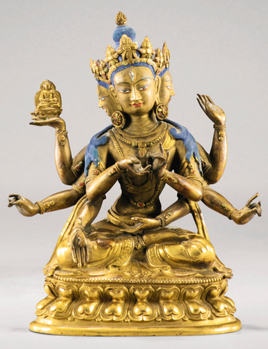 Statuette d'Ushnishavijaya - 18.750 €