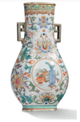 Vase d'applique 'qianlong' – 70,200 €