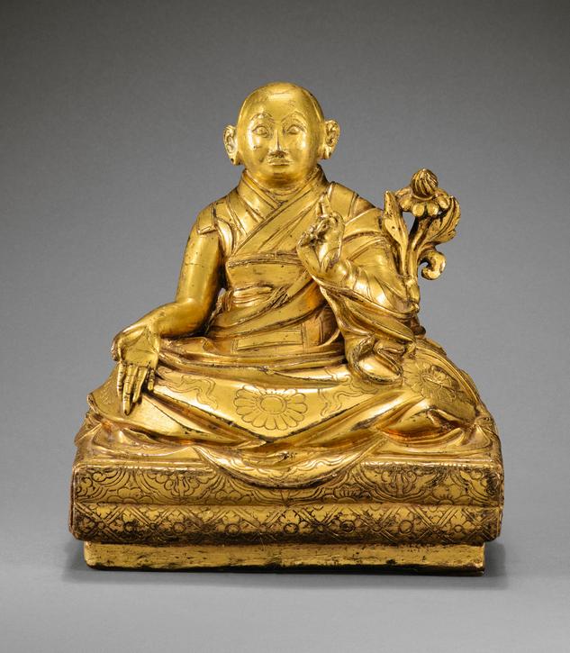 Statuette de Ngawang Lobsang Gyatso – 68,750 €