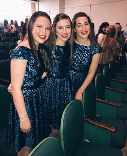 Our FUMC girls in Splash did a great job