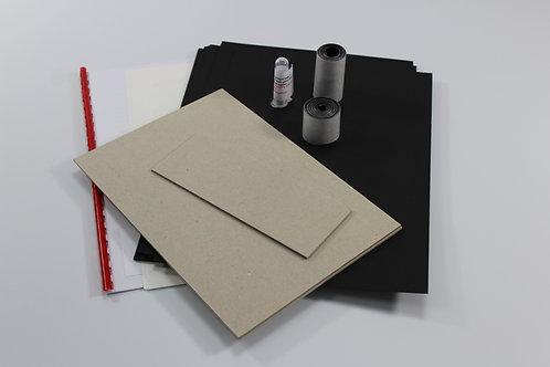 """6 1/2"""" x 91/2"""" Landscape album kit"""
