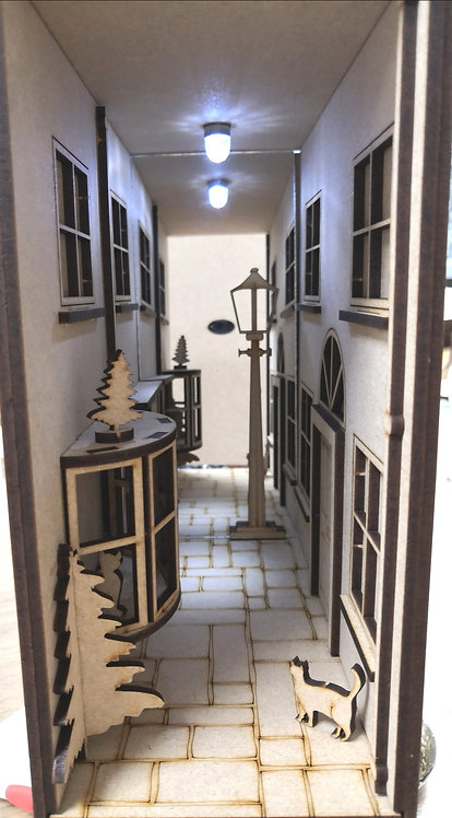 Traditional Alley Intrigue-BookNook