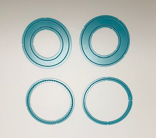 Circle flip flap die set