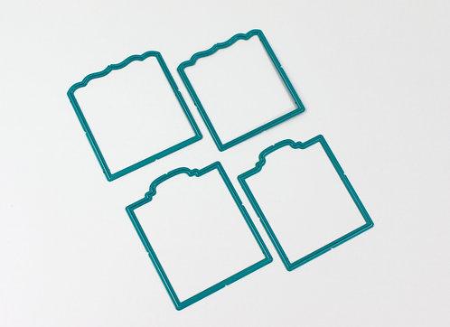 CoolKatzCutz -Victorian and walrus min flip flap die set