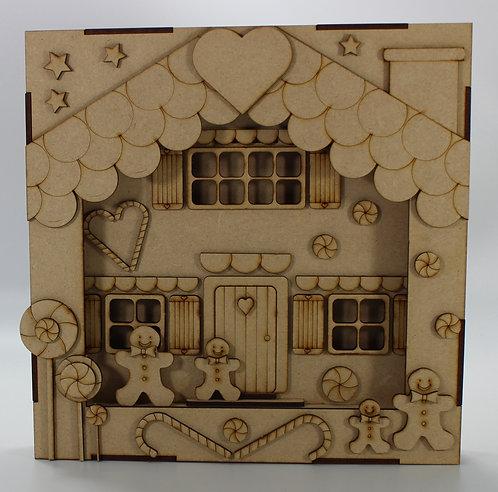 Gingerbread House Frame