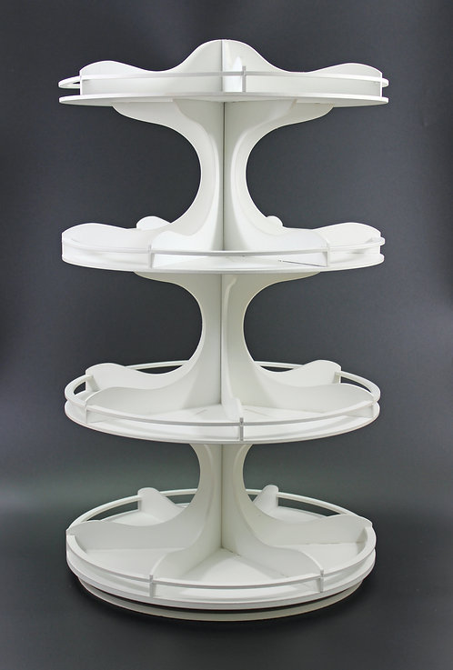 4 tier MINI multi medium wizz * unit in image painted after assembly.