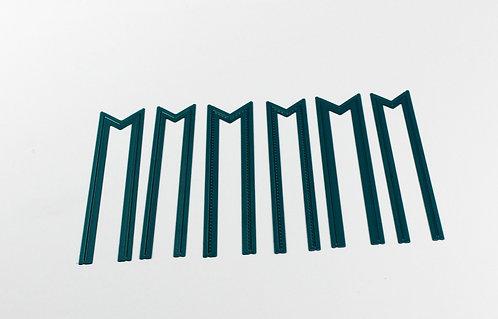 CoolKatzCutz set of 6 decorative never ending banner dies